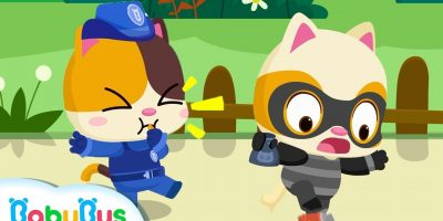 "Go! Baby Kitten Policeman | ""No No"" Play Safe Song 