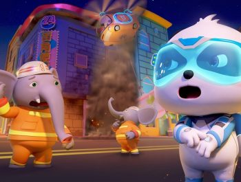 Super Panda Fireman, Action! | Rescue Grandpa Turtle | Super Panda Rescue Team | BabyBus