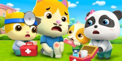 Daddy Got a Boo Boo | Doctor Cartoon | for kids |  BabyBus Nursery Rhymes & Kids Songs
