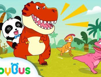 ❤ Tyrannosaurus-Rex   Nursery Rhymes   Kids Songs   BabyBus
