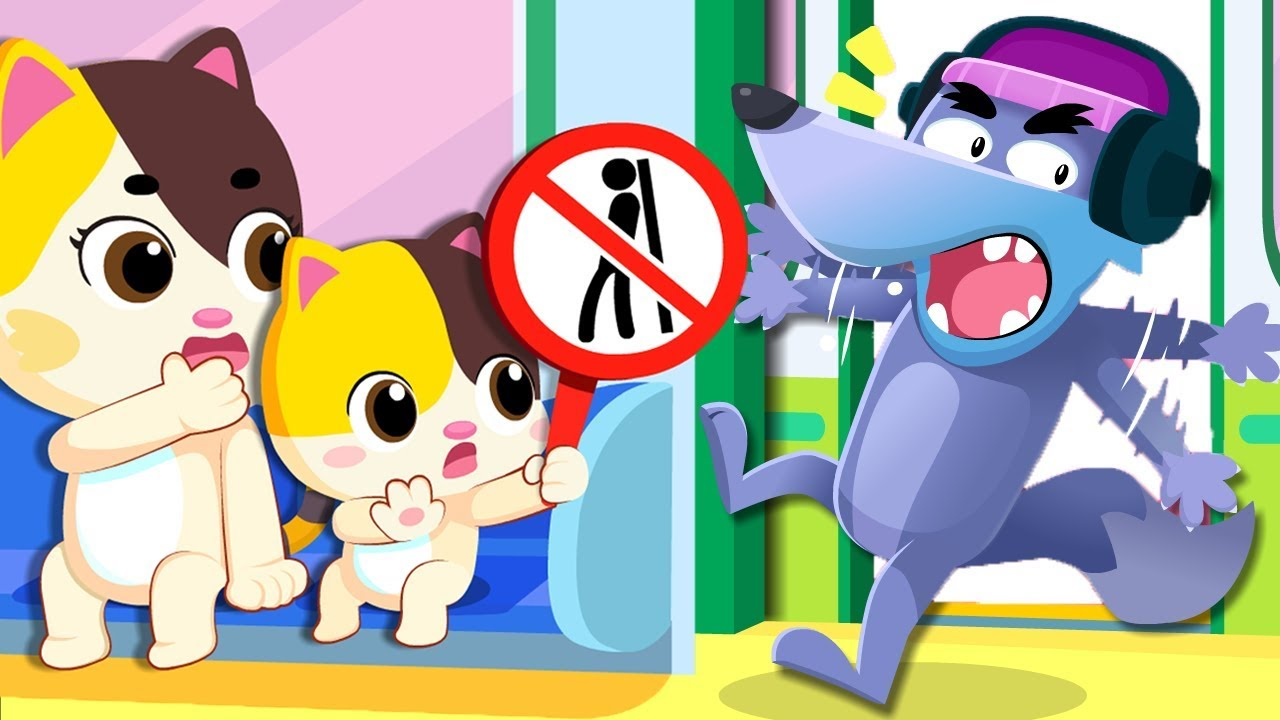 No No Subway Safety Song   Play Safe Song   Nursery Rhymes   Kids Songs   Playground Song   BabyBus