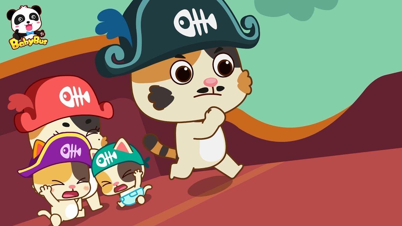 Baby Kitten's Ocean Adventure | The Color of Love | Kids Good Habits | BabyBus