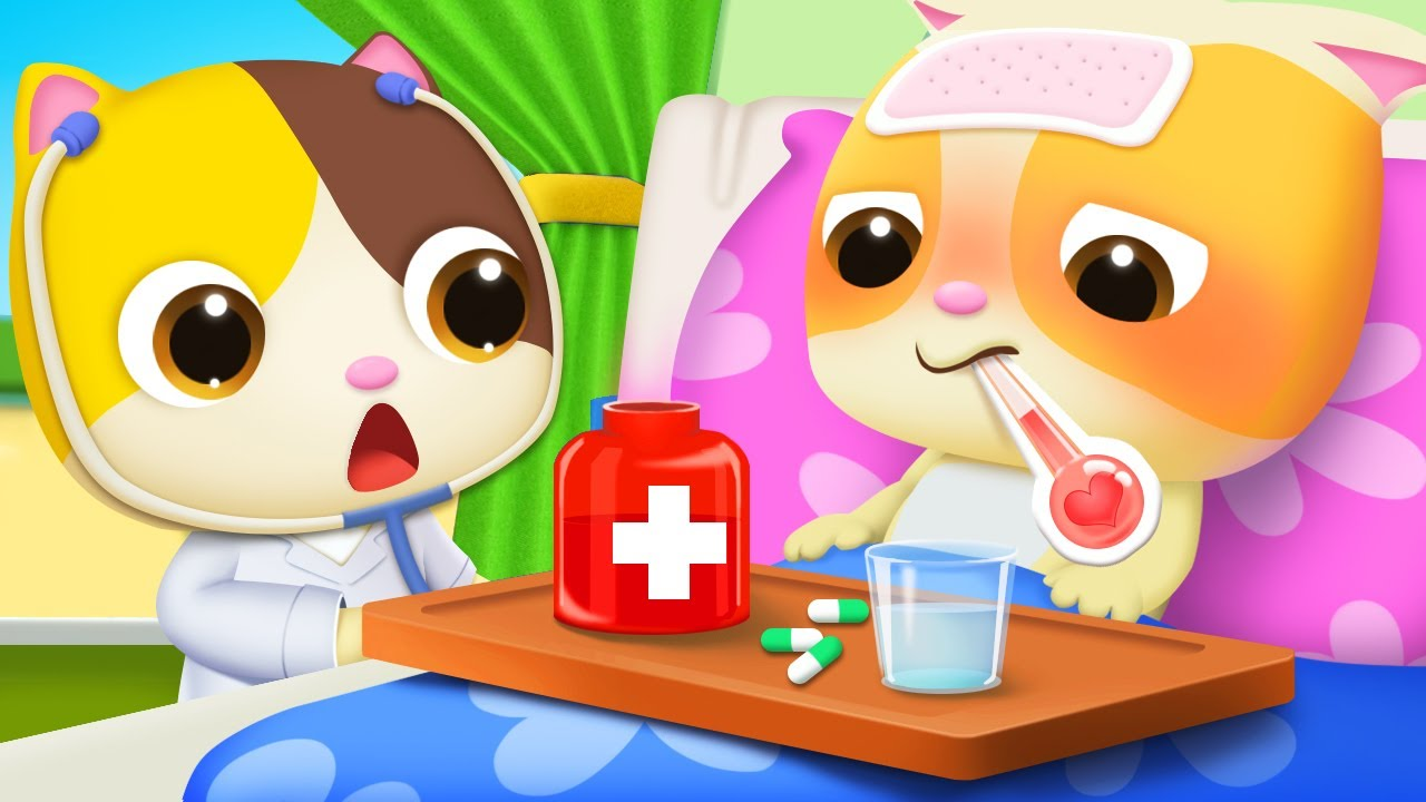 I don't Like Medicine | Doctor Cartoon | Boo Boo Song | Kids Songs | Baby Cartoon | BabyBus