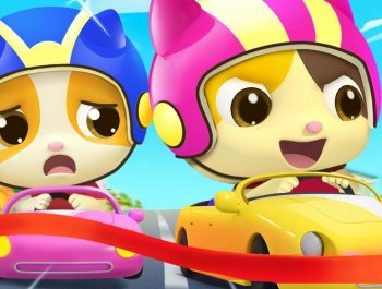 Little Car & Balloon Boat Race   Nursery Rhymes   Kids Cartoon   BabyBus