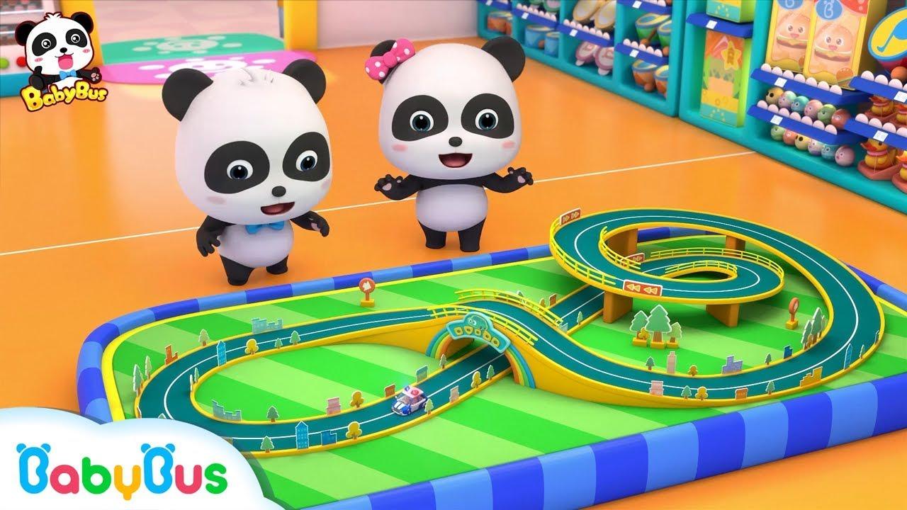Baby Panda's Amazing Car Toys | Surprise Eggs | Nursery Rhymes | Kids Songs | BabyBus