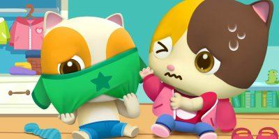 Baby Get Dressed Song | Good Habits Song | Nursery Rhymes | Kids Songs | Kids Cartoon | BabyBus