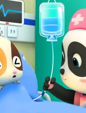 Baby Kitten Has a Fever   Baby Panda Nurse   Pretend Play with Doctor Toys   Kids Song   BabyBus