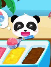 Baby Panda's Summer Vacation   Kids Learn Seasons   Autumn, Winter, Spring, Summer   BabyBus Game
