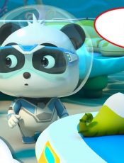 *NEW* Super Panda Rescues Daddy Seahorse | Super Rescue Team 9 | Panda Cartoon | BabyBus