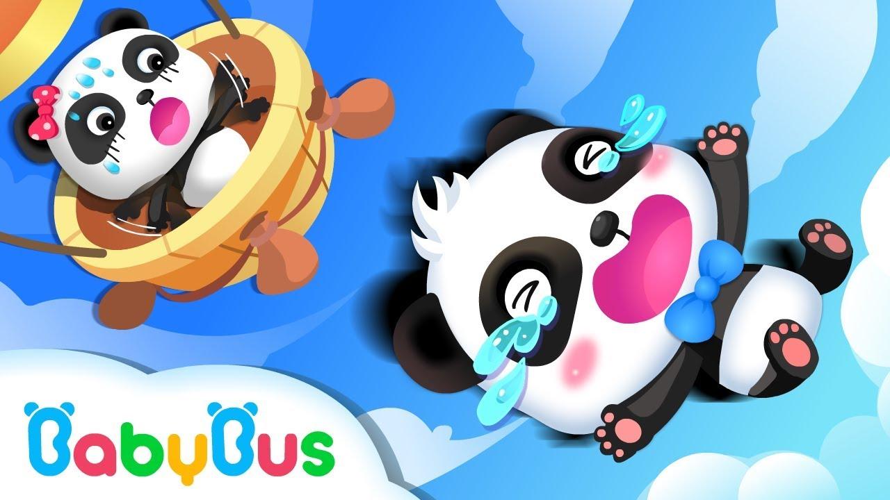 Baby Panda Flies to Zero Castle | Math Kingdom Adventure | BabyBus Cartoon
