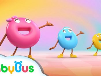 Where did Donuts Go?   Donuts Like Dancing   Color Song   Nursery Rhymes   Kids Songs   BabyBus