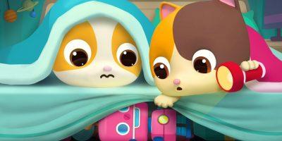 The Monster under the Bed | for kids | Nursery Rhymes | Kids Songs | Kids Cartoon | BabyBus