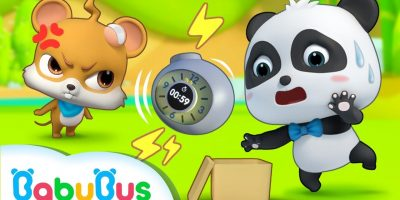 Watch out! A Ticking Bomb | Baby Panda's Magic Bow Tie | Magical Chinese Characters | BabyBus