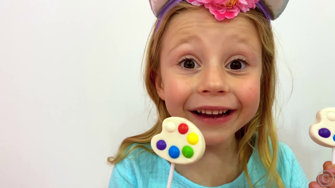 Nastya and dad – a story for kids about harmful sweets and candies