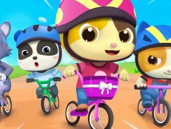 You Can Ride a Bike | Bath Song, Beach Song | Nursery Rhymes | Kids Songs | BabyBus