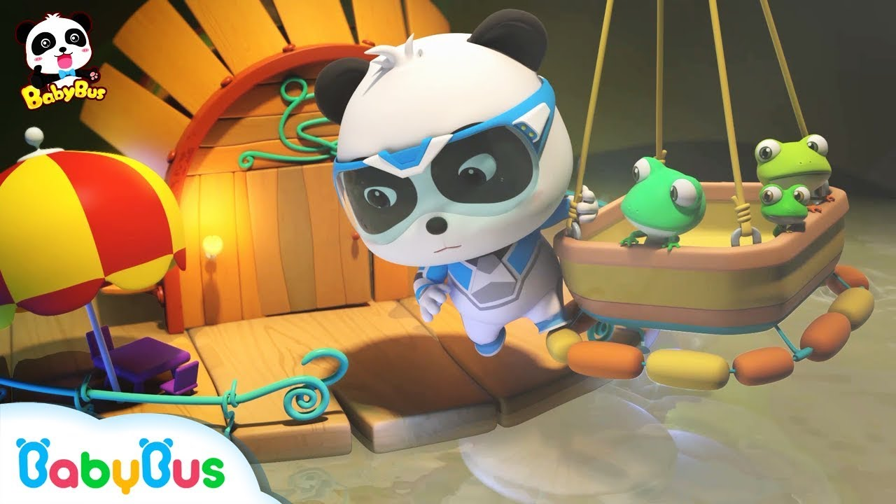 New❤Baby Frog's House is Flooded with Hot Water | Super Panda Rescue Team 6 | BabyBus Cartoon