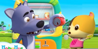 Bad Wolf's Cola is Empty   Nursery Rhymes   Kids Safety Tips   Baby Cartoon   BabyBus