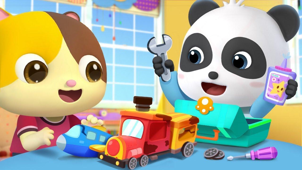 Change Old Cars Into New Ones | Police Car, Doctor Cartoon | Nursery Rhymes| Kids Songs |BabyBus