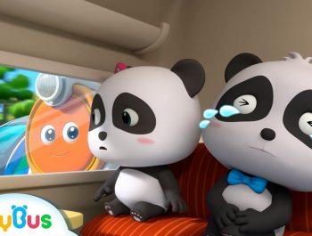 Baby Panda Got Injured | Super Train Rescue Team | Kids Safety Tips | Kids Song | BabyBus Cartoon