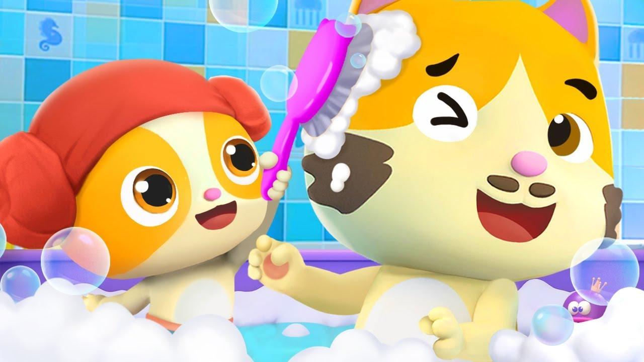 I Love to Take a Bath   Bath Song, Potty Training Song   BabyBus Nursery Rhymes & Kids Songs