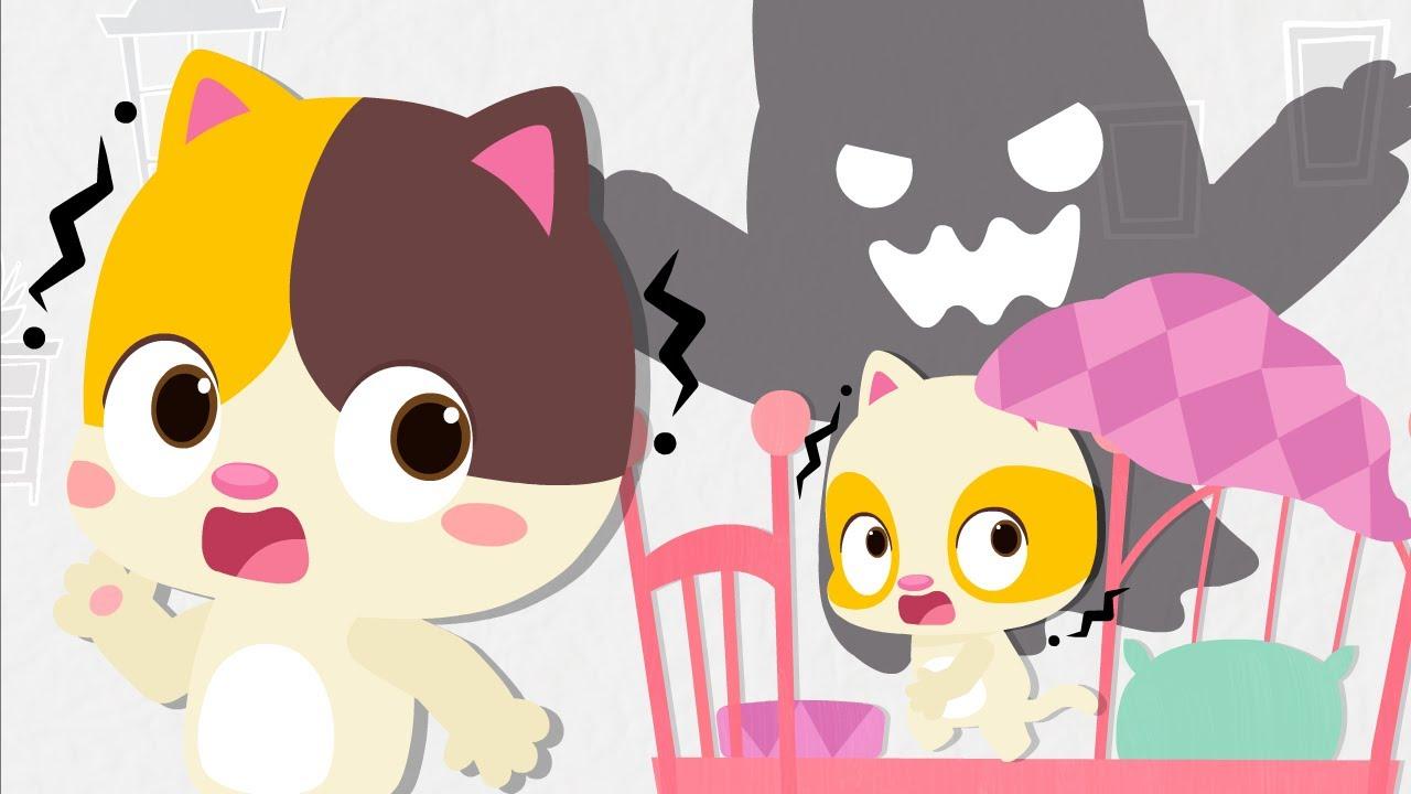 It's Not A Monster | Baby Kitten Heroes | Nursery Rhymes | Kids Songs | Baby Cartoon | BabyBus
