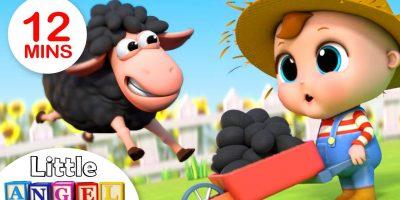 Baa Baa Black Sheep | Nursery Rhymes by Little Angel