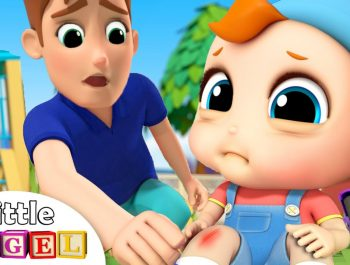 Baby Gets a Boo Boo | Boo Boo Song | Nursery Rhyme for Kids Little Angel