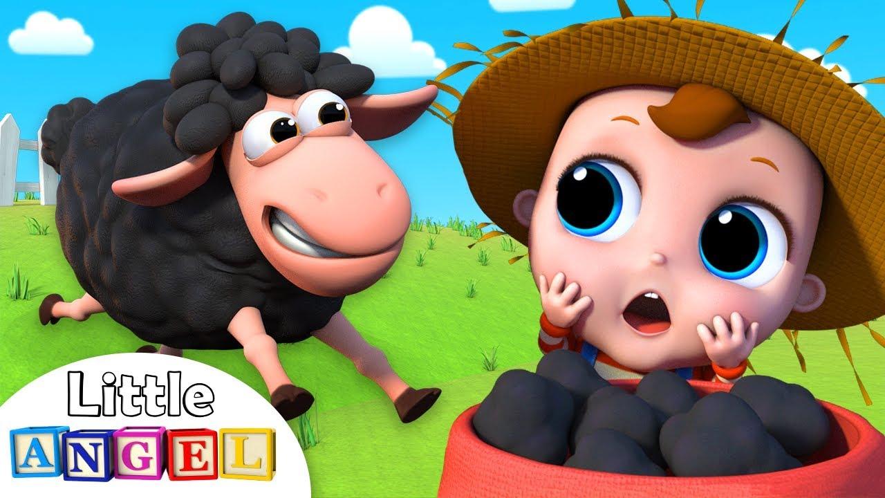 Baa Baa Black Sheep, Have You Any Wool? | Nursery Rhymes by Little Angel