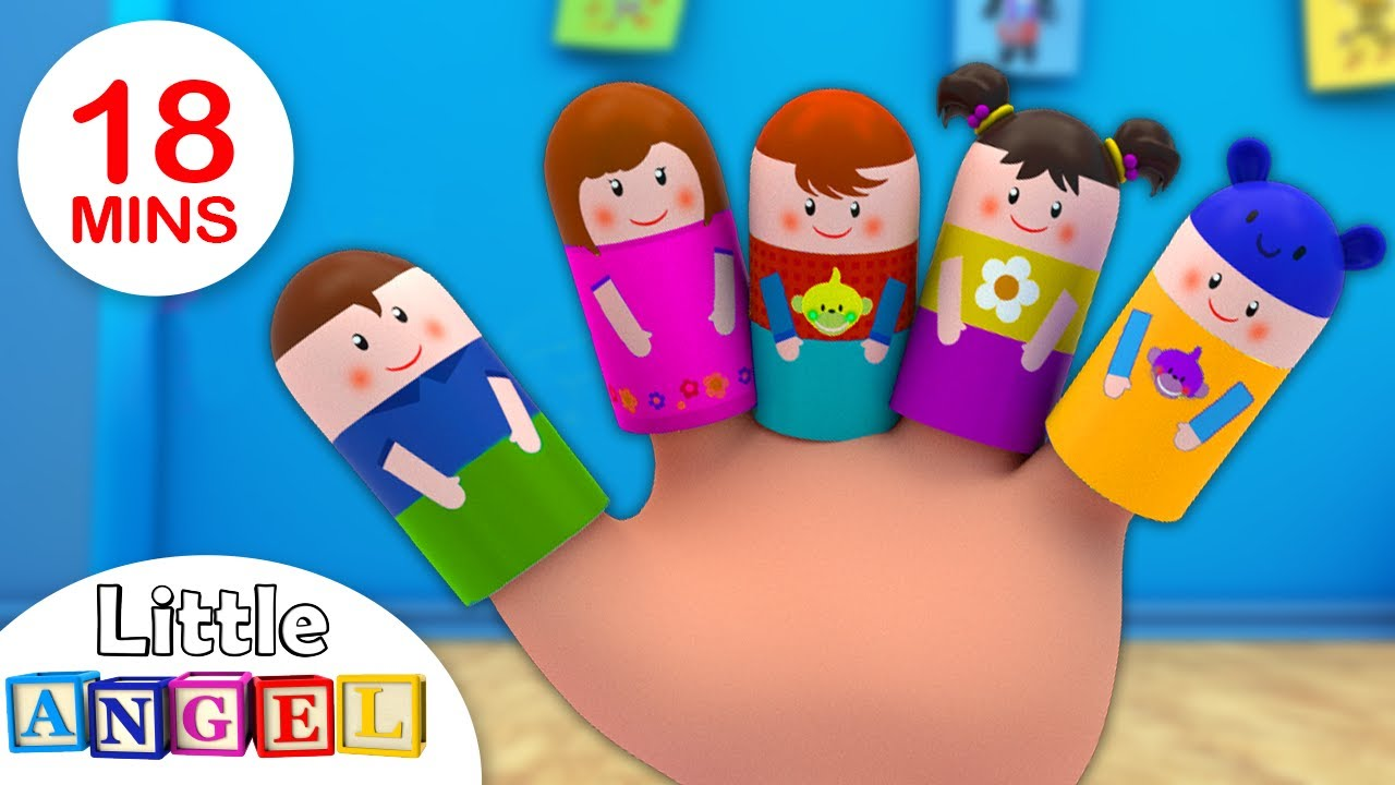 Finger Family +More Kids Songs and Nursery Rhymes by Little Angel