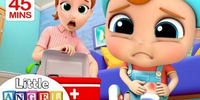 Boo Boo Song   + more Little Angel Kids Songs & Nursery Rhymes