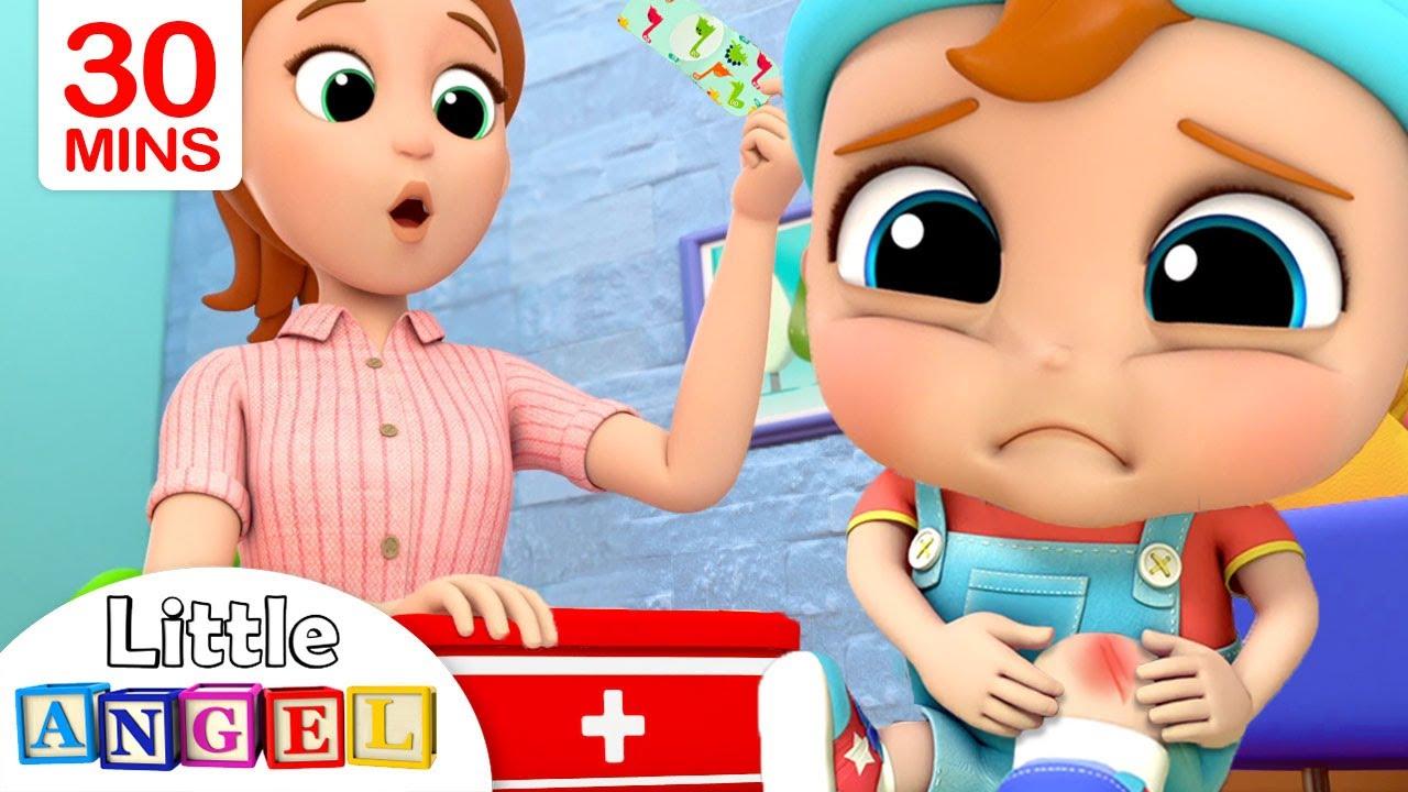 Boo Boo Song 2 | +More Little Angel Kids Songs & Nursery Rhymes