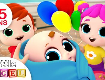 Baby is Here! Welcome Home, Baby Brother   Nursery Rhymes by Little Angel
