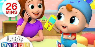 Baby's First Words – Mom or Dad? | Nursery Rhymes by Little Angel