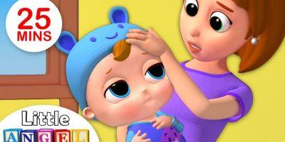 Baby Got Sick | Sick Song +More Kids Songs & Nursery Rhymes by Little Angel