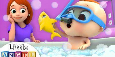 Bath Time Song with Baby John | Nursery Rhymes & Kids Songs Little Angel