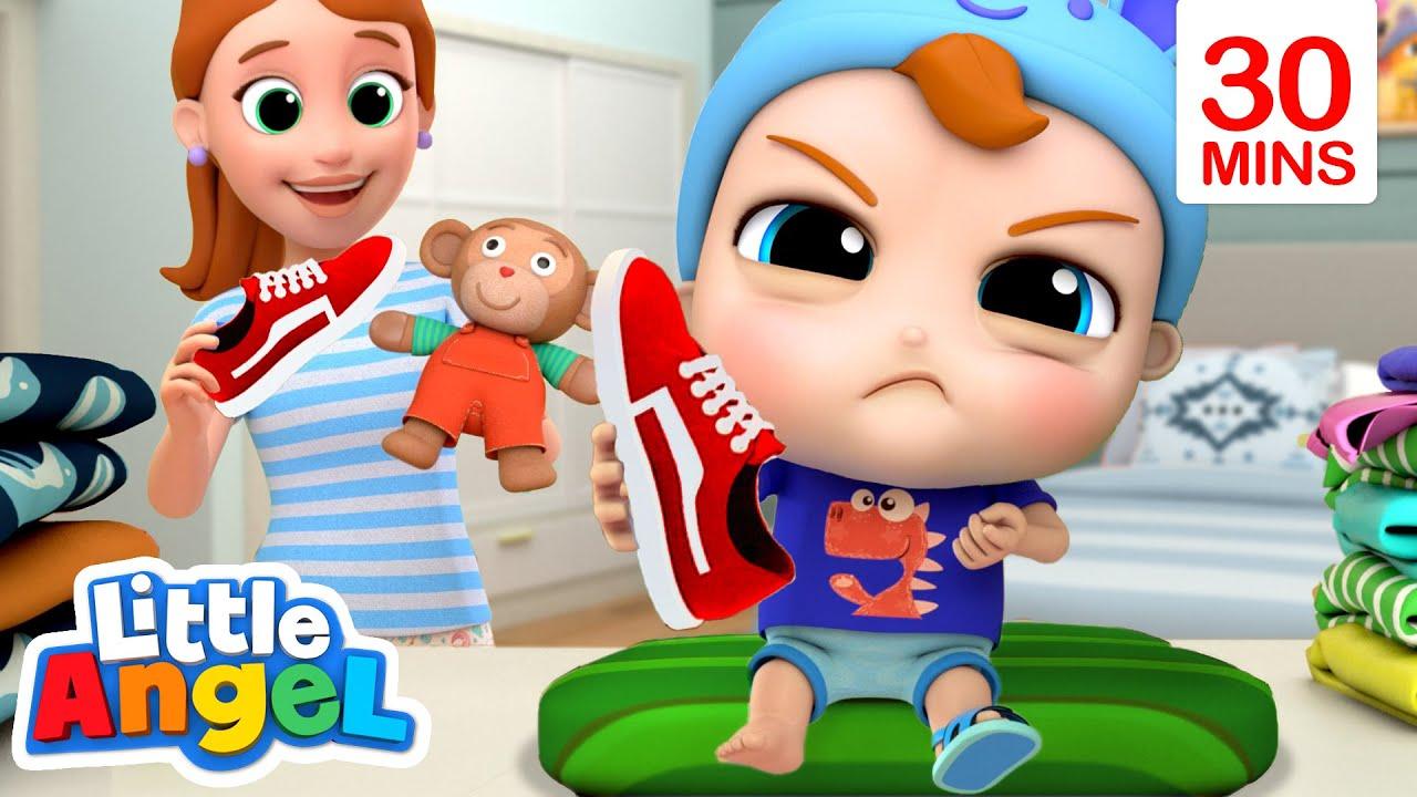 It's Time to Get Dressed   Little Angel Kids Songs & Nursery Rhymes