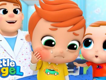 Visiting the Dentist | Boo Boo Song | Little Angel Kids Songs