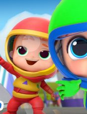 I Wanna Be An Astronaut! | A Space Song |  Little Angel Kids Songs