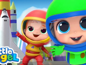 I Wanna Be An Astronaut! | A Space Song |  Little Angel Kids Songs