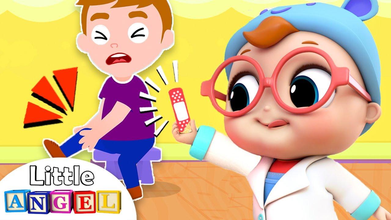 Baby Doctor Checkup Song | Little Angel Kids Songs & Nursery Rhymes