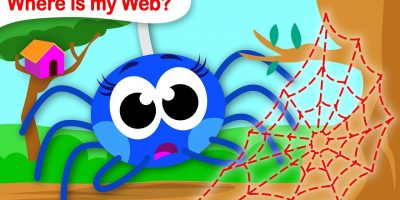 Where Is My Web? | Help Itsy Bitsy Spider Find her Web | Fun Songs for Kids by Little Angel