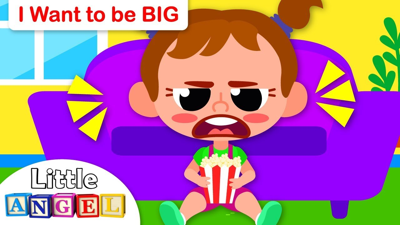 I Want to Be BIG | Kids Songs and Nursery Rhymes by Little Angel