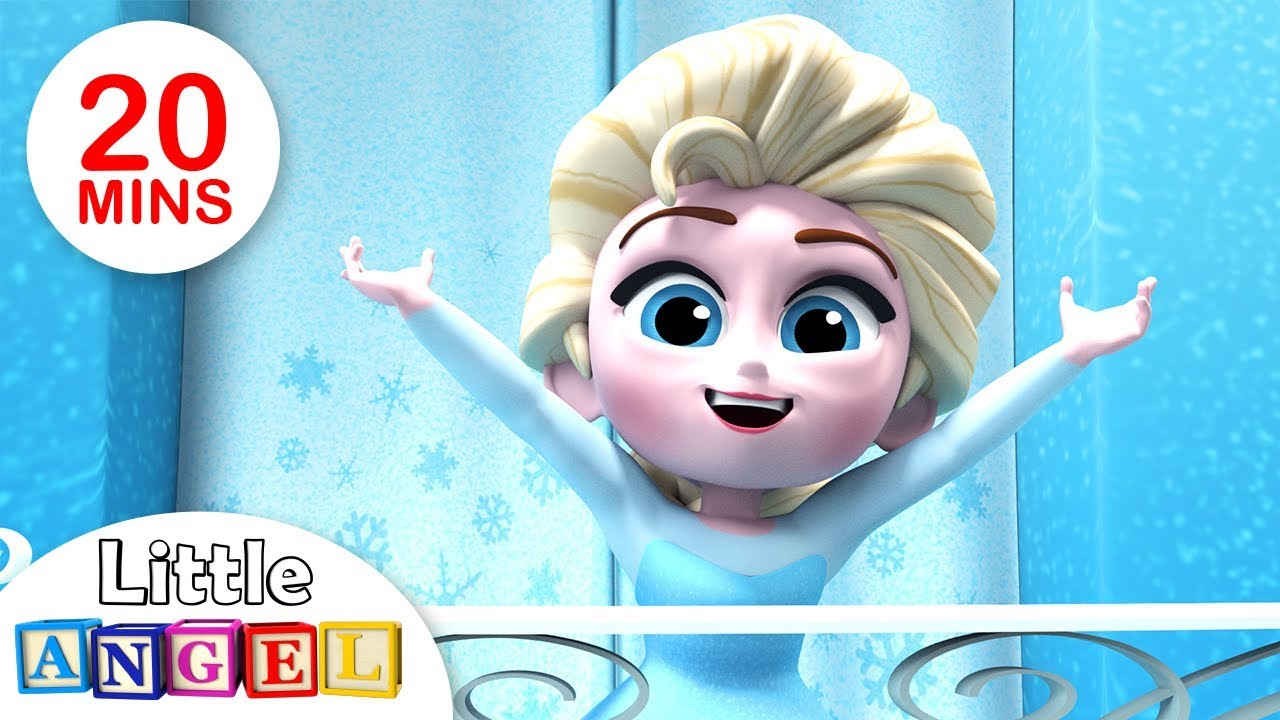 We Are the Princesses | Humpty Dumpty +More Kids Songs by Little Angel