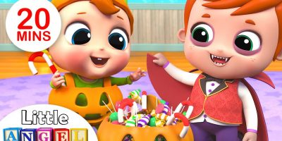 This is the Way We Trick or Treat | Halloween Special | Kids Songs by Little Angel