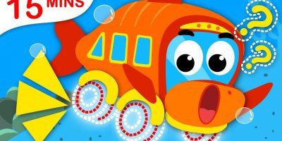 Where is my Wheel? Yum Yum Vegetables, Humpty Dumpty Princesses | Nursery Rhymes by Little Angel