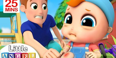 Baby Has A Boo Boo +More Nursery Rhymes & Kids Songs by Little Angel
