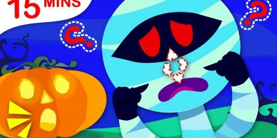 Where is my Nose? | Halloween Costume Party, Puppy Patrol & More Kids Songs by Little Angel