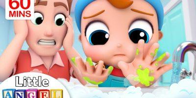 Wash Your Hands | Healthy Habits | Little Angel Kids Songs & Nursery Rhymes