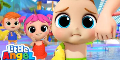 No, No, Don't Be Afraid of The Waterpark   Little Angel Kids Songs and Nursery Rhymes