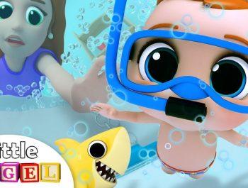 Bath Time Song | Baby's Bath Time | Little Angel Nursery Rhymes